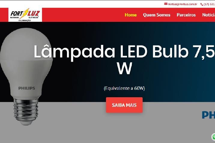 Lançamento do novo site
